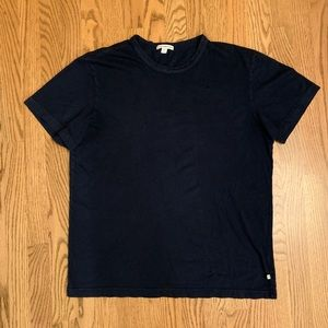 James Perse Navy Crewneck T-Shirt